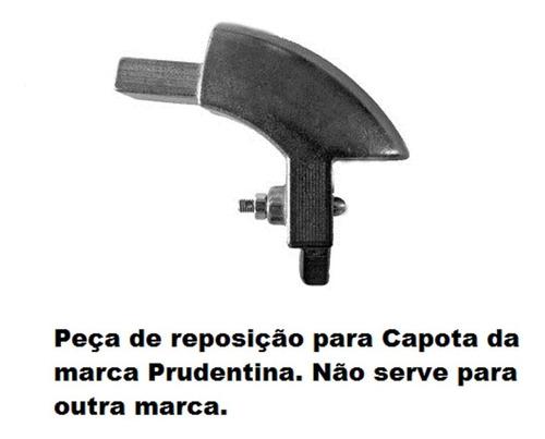 Cantoneira Track Alumínio Kit C/ 2 Peças Capotas Prudentina