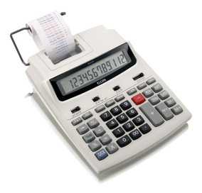 Calculadora De Mesa Com Bobina 12 Digitos Leve Mr-6125 Elgin