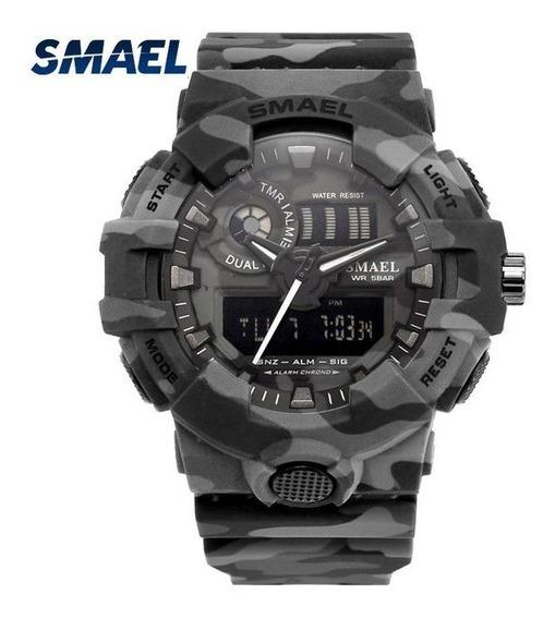 Relógio Digital Smael 8001
