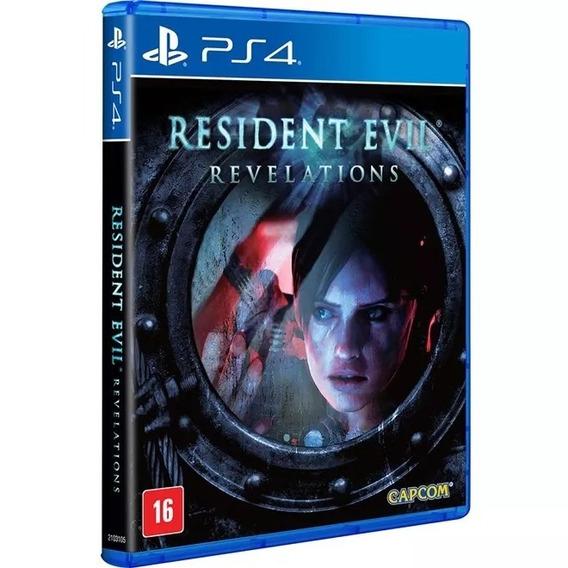 Resident Evil Revelations Ps4 Mídia Física Novo Em Português