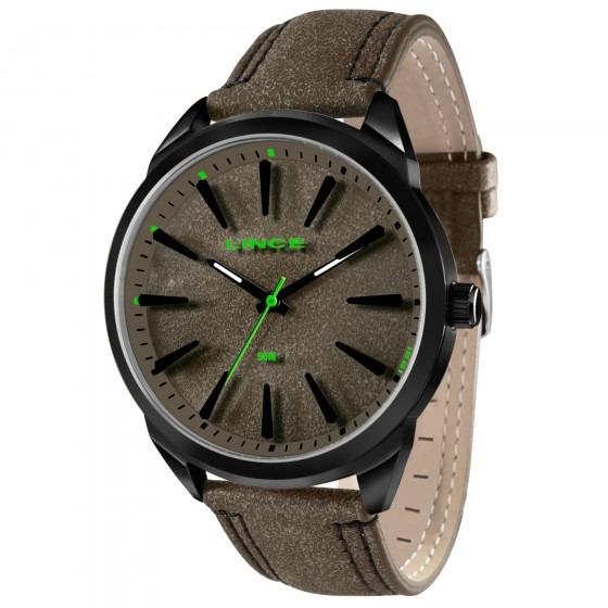Relógio Lince Mrc4386s M1mp Masculino Marrom - Refinado