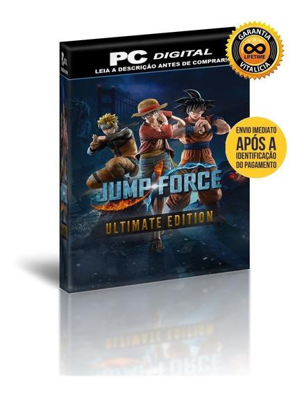 Jump Force - Ultimate Edition - Pc Digital + Brinde