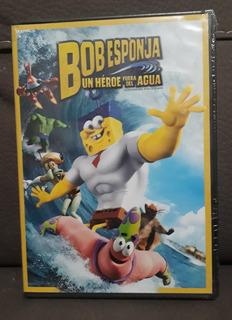 Bob Esponja - Un Heroe Fuera Del Agua Dvd Nuevo Envio Gratis