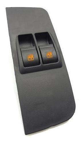 Interruptor De Vidro Elétrico Palio 2003 Em Diante Esquerdo Com Moldura Yonic (3 Unidades)