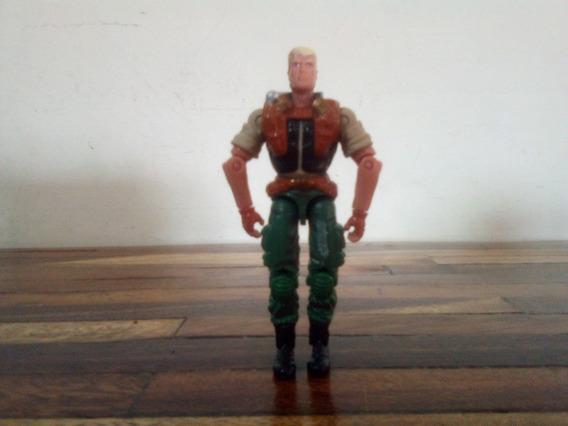 Figura De Duke, Gi Joe Hasbro, 2002, 10 Verdes