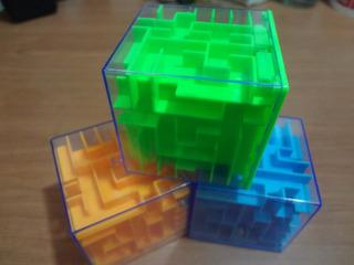Alcancía Cubo Laberinto 3d / Pack X 8 / Barbazar
