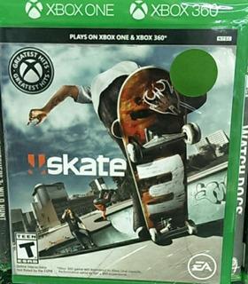 Skate 3 Xbox One Nuevo