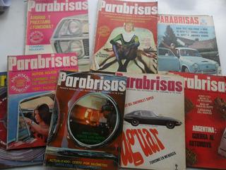 Lote 8 Revista Parabrisas 1966 1967 Decada 60 No Corsa Auto
