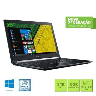 Notebook Acer A515-51-56k6 Intel Core I5 8gb Ram 1tb Hd 15.6