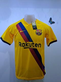 Camisa Barcelona Away 19/20 S/nº Torcedor