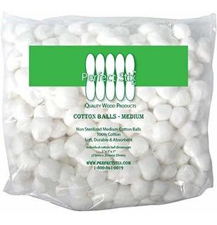 Perfect Stix Cotton Balls M500ct Bolas De Algodón De Tamañ
