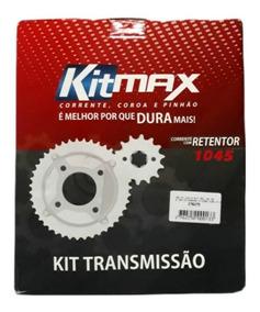 Kit Relação Esportiva Com Retentor Cb 300 Aço 1045 Max