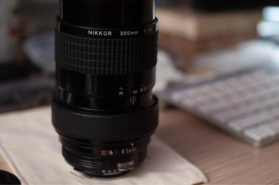 Nikon 300mm Ai-s Serve D750 D850 Fm2 Etc Excepcional Estado