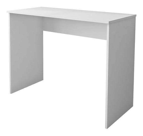 Mesa Para Notebook Computador Escrivaninha 101cm Slim Branco
