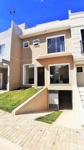 Sobrado Com 3 Dormitórios À Venda, 160 M² Por R$ 540.000,00 - Alto Boqueirão - Curitiba/pr - So0148