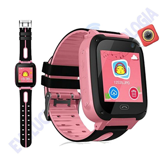 Smartwatch A20 Gps, Sos, Para Niños Reloj Inteligente