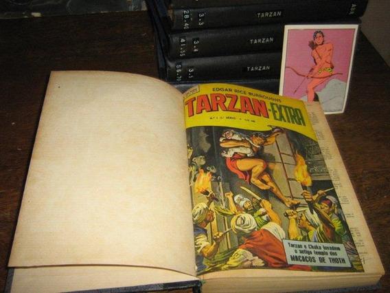 Tarzan 3ª Serie Nºs 1 Ao 100 Ebal Ano:1965 Coleção Completa
