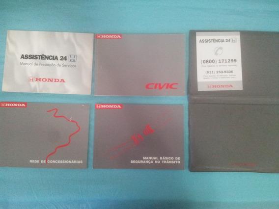 Manual Honda Civic 1998 1999 2000 Original