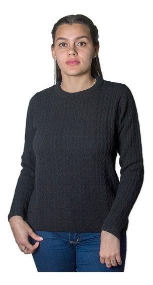 Sweater Dama Burma Base Con Trensa Swe-d-25 - Tienda Chaia