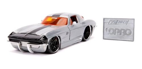 Vehículo Jada 20th Diecast - Chevy 1963 De Escala 1:24