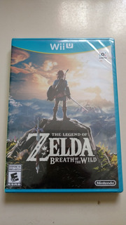 The Legend Of Zelda Breath Of The Wild Wii U Sellado