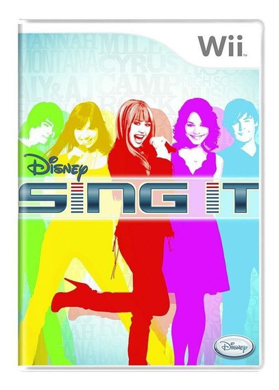 Disney Sing It Wii Mídia Física Pronta Entrega