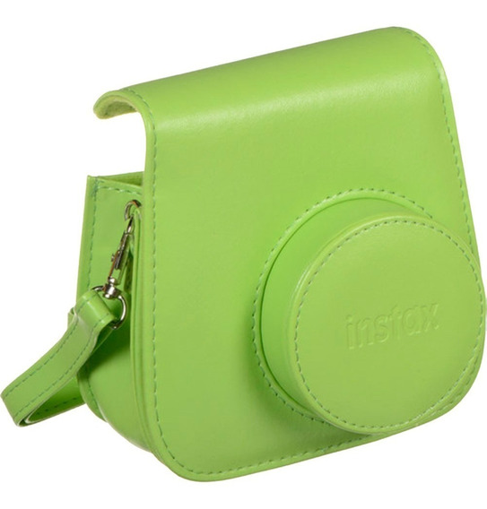 Instaxmini Groovy Case Verde Lima