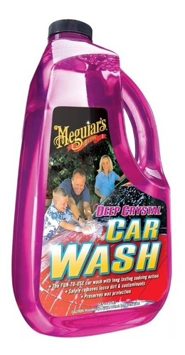 Meguiars Deep Crystal Car Wash Shampoo Ph Neutro - Allshine