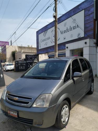 Chevrolet Meriva 2012 Gl Plus Gnc Financio Recibo Menor