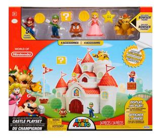 Castillo Mario Bros Deluxe World Of Nintendo