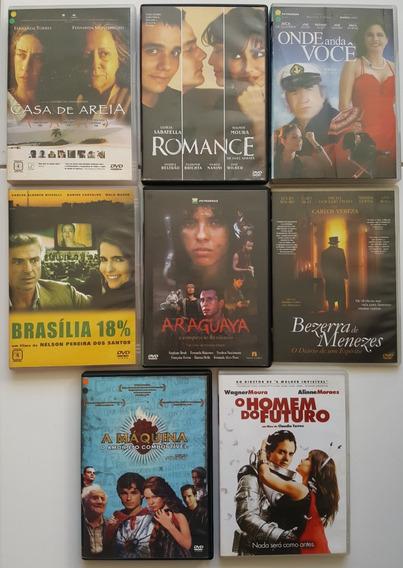 Super Lote Dvds Nacionais 1 Filmes Brasileiros