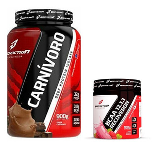 Carnívoro Isolado + Bcaa 100g - Bodyaction - Comprou,postou!