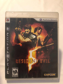 Jogo De Playstation 3 Resident Evil 5