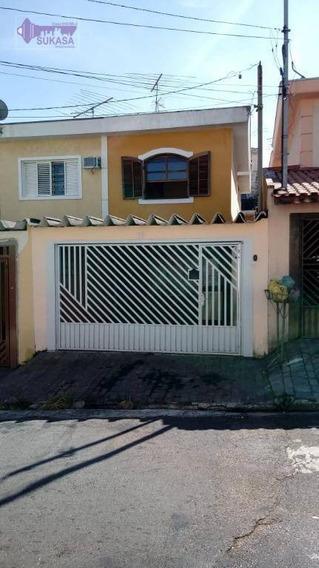 Sobrado À Venda, 202 M² Por R$ 490.000,00 - Vila Scarpelli - Santo André/sp - So0355