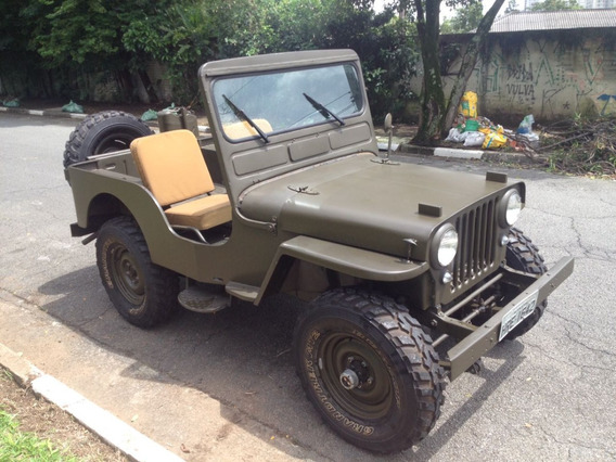 Jeep Willys 1952