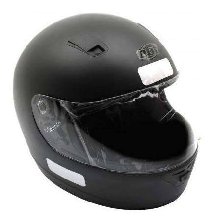 Capacete Ebf 7 Solid 60 Preto Fosco 011883