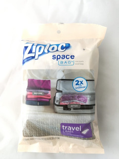 Ziploc Space Bag, Travel