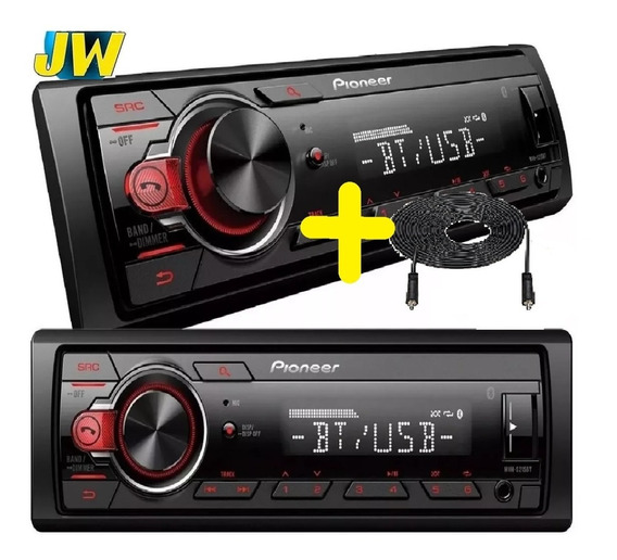 Estereo Pioneer Mvh 215 Bluetooth Usb Aux Colocado Reemp 295