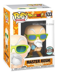 Funko Pop! Dbz Master Roshi 533 Original Specialty Series