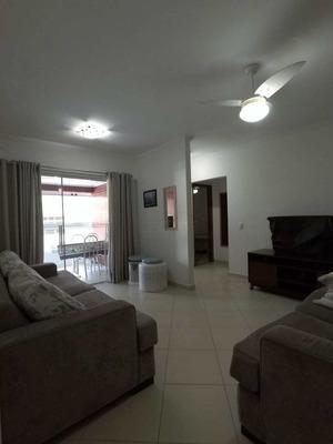 Apartamento 2 Quartos Mobiliado Com Piscina Na Quadra Da Praia - V677
