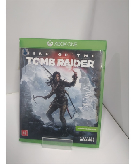 Rise Of The Tomb Raider (seminovo) - Xbox One
