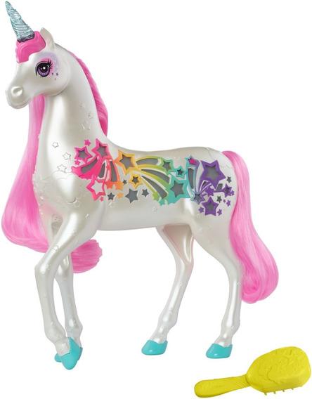 Muñeca Barbie Unicornio Brillante Dreamtopia