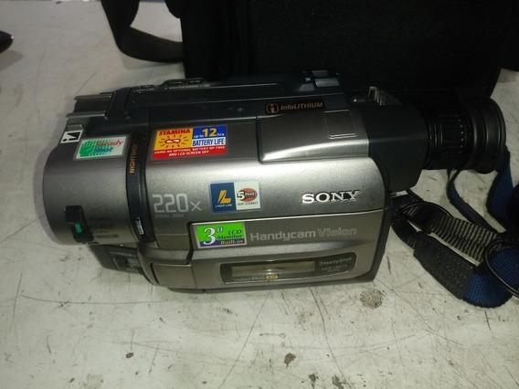 Filmadora Sony Pra Aproveita Peças Sem Garantia Completa
