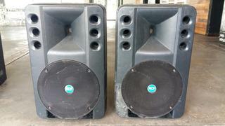2 Cajas Activas Potenciada Rcf Art300 A Parlante