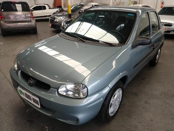 Corsa Sedan Wind 1.0 2003 Cinza Confira !!