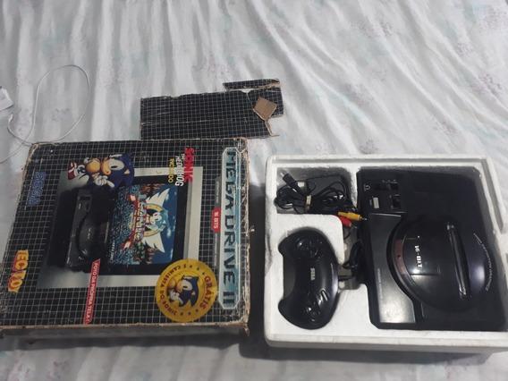 Mega Drive 2 Com Caixa E Manuais Originais Campinas