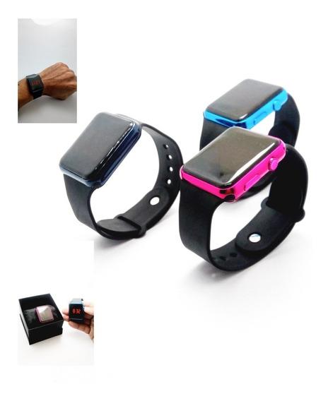 Relógio Digital Estiloso Unisex Promoção Mais Caixa Brinde