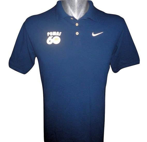 Kit Playeras Pumas Nike Tipo Polo 60 Años