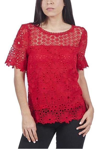 Blusa Dama De Crochet Cklass