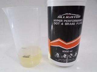 Oleo Dot 4 Hidraulico Alligator Disco 100ml (a Granel).